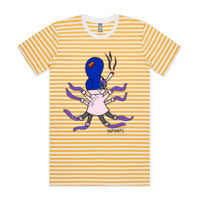 'Maxine Mollusc' Striped Tee Thumbnail