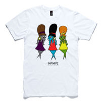 'Connie & The Codettes' Paper Slim Fashion Tee Thumbnail
