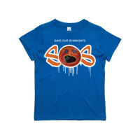 'SOS' Kids Premium Fashion Tee Thumbnail
