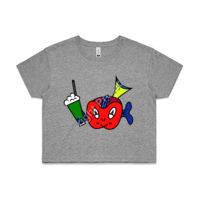 'Candy C. Clownfish' Crop Tee Thumbnail